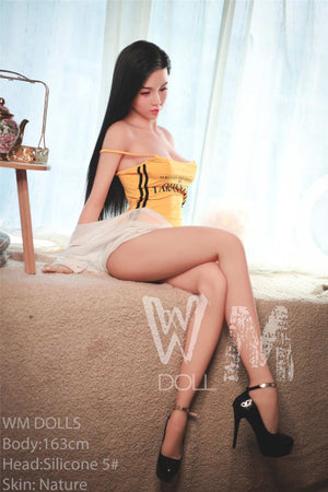 kourtney 163cm black hair japanese medium tits skinny tpe wm asian sex doll(4)