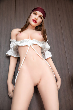 olympia 168cm brown hair hr medium tits skinny tpe sex doll(10)