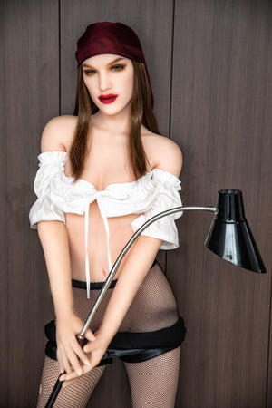olympia 168cm brown hair hr medium tits skinny tpe sex doll(13)