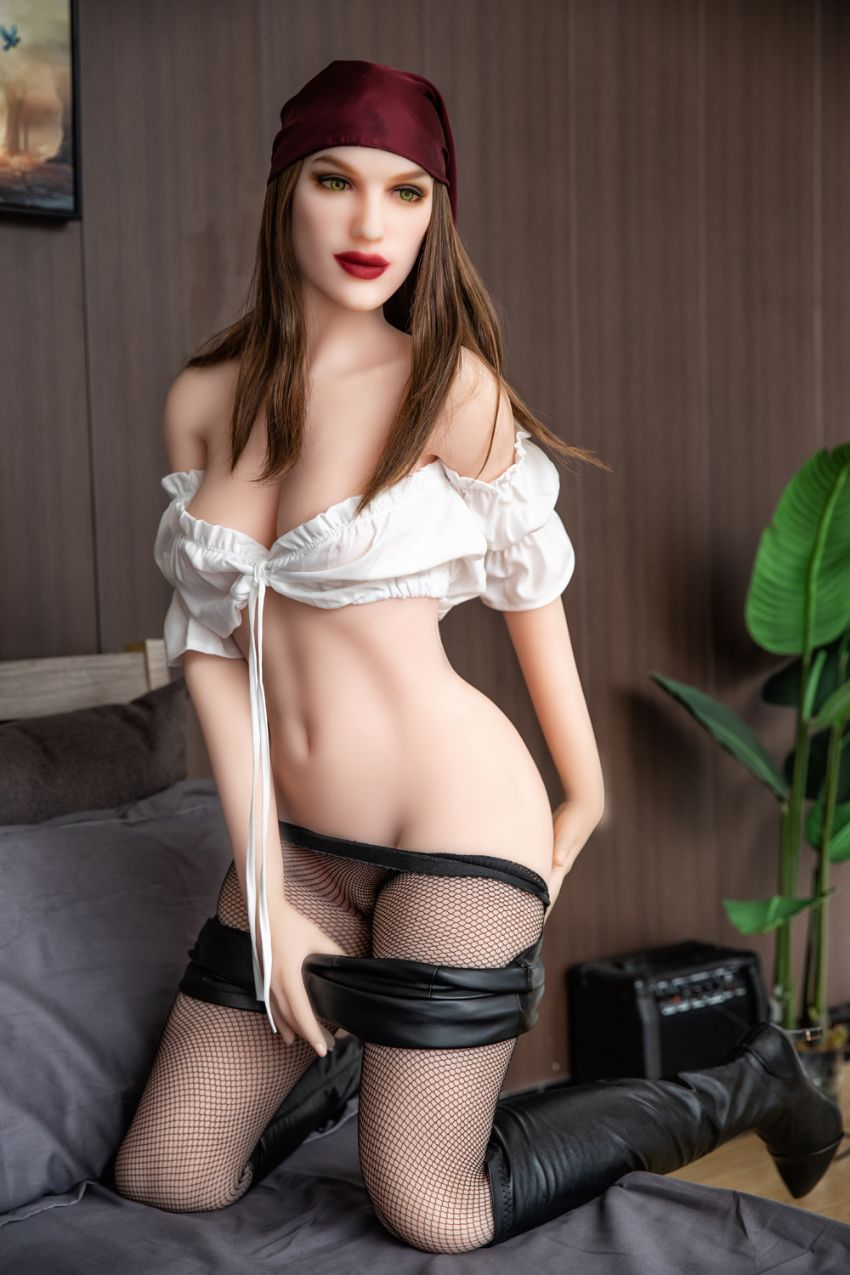 olympia 168cm brown hair hr medium tits skinny tpe sex doll(5)