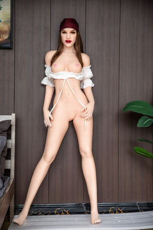 olympia 168cm brown hair hr medium tits skinny tpe sex doll(9)