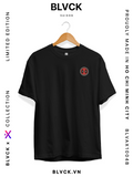 Deadpool EMB T-Shirt - Áo thun thêu Deadpool - BLVCK Saigon