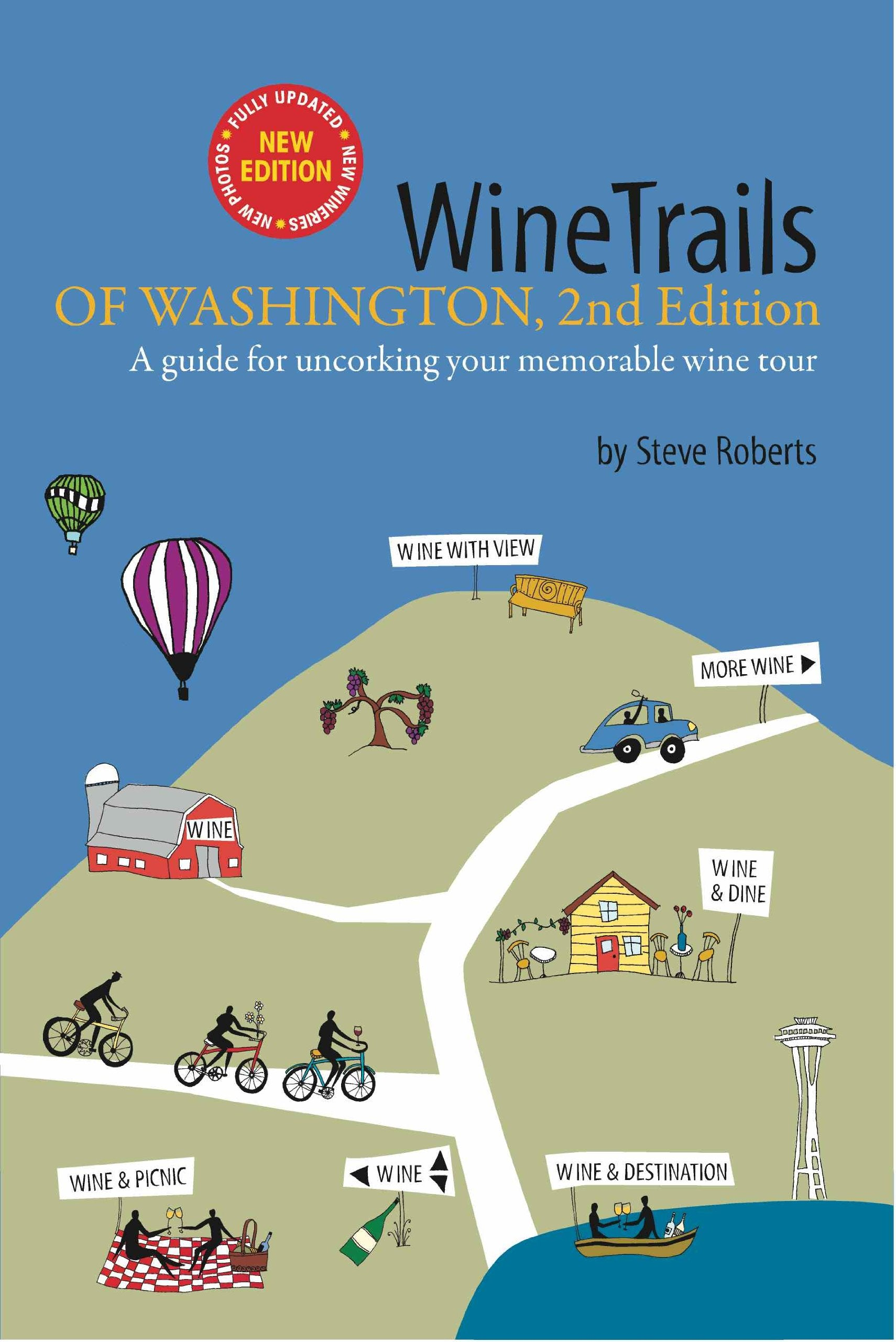Washington Wine Trails Cover Art