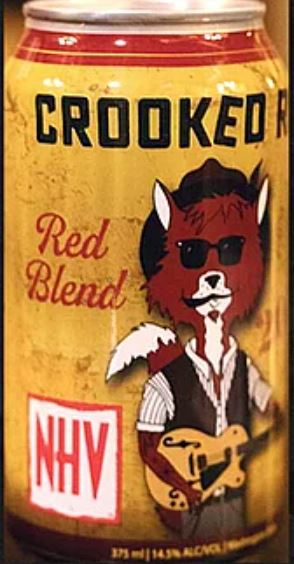 Naches Heights Vineyards Crooked Red 2014 - 375 mL Can