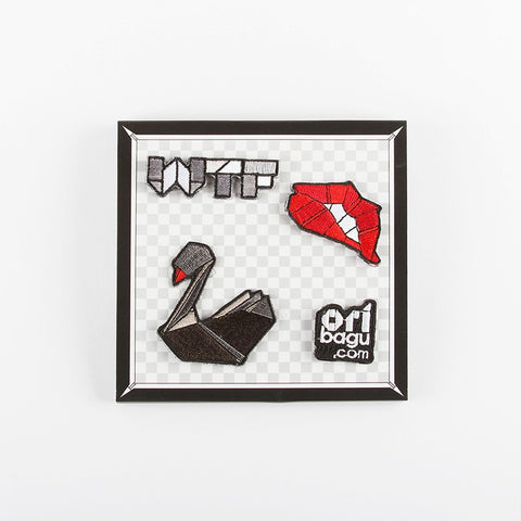 ORIBAGU_Pins Collection-WTF