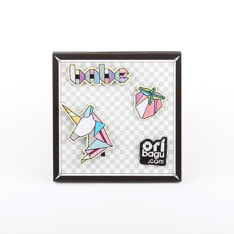 ORIBAGU_Pins Collection-BABE