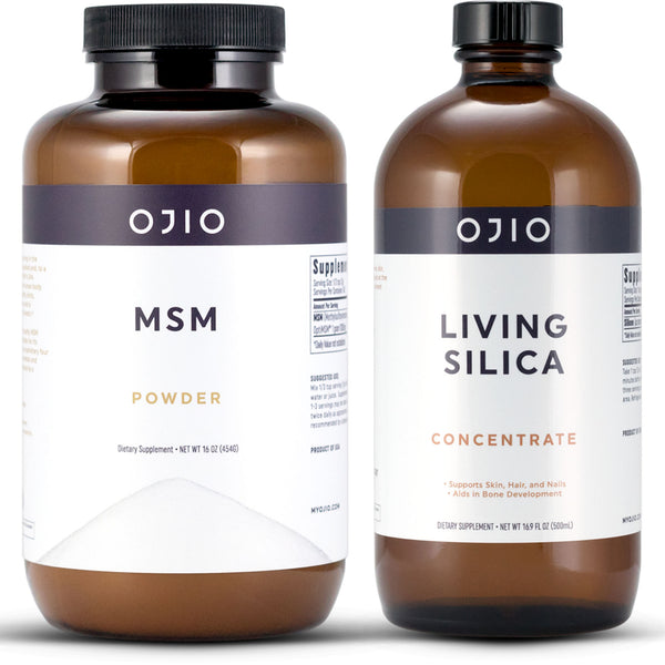 MSM Powder and Living Silica Bundle