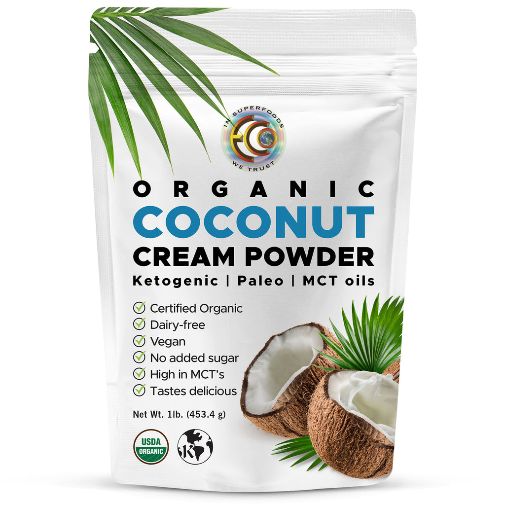 Coconut Cream Powder |  Organic | Kosher - 1 Lb