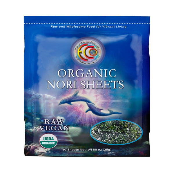 "Nori Seaweed Sheets |  Organic | Kosher | Grade ""A"" Rating 