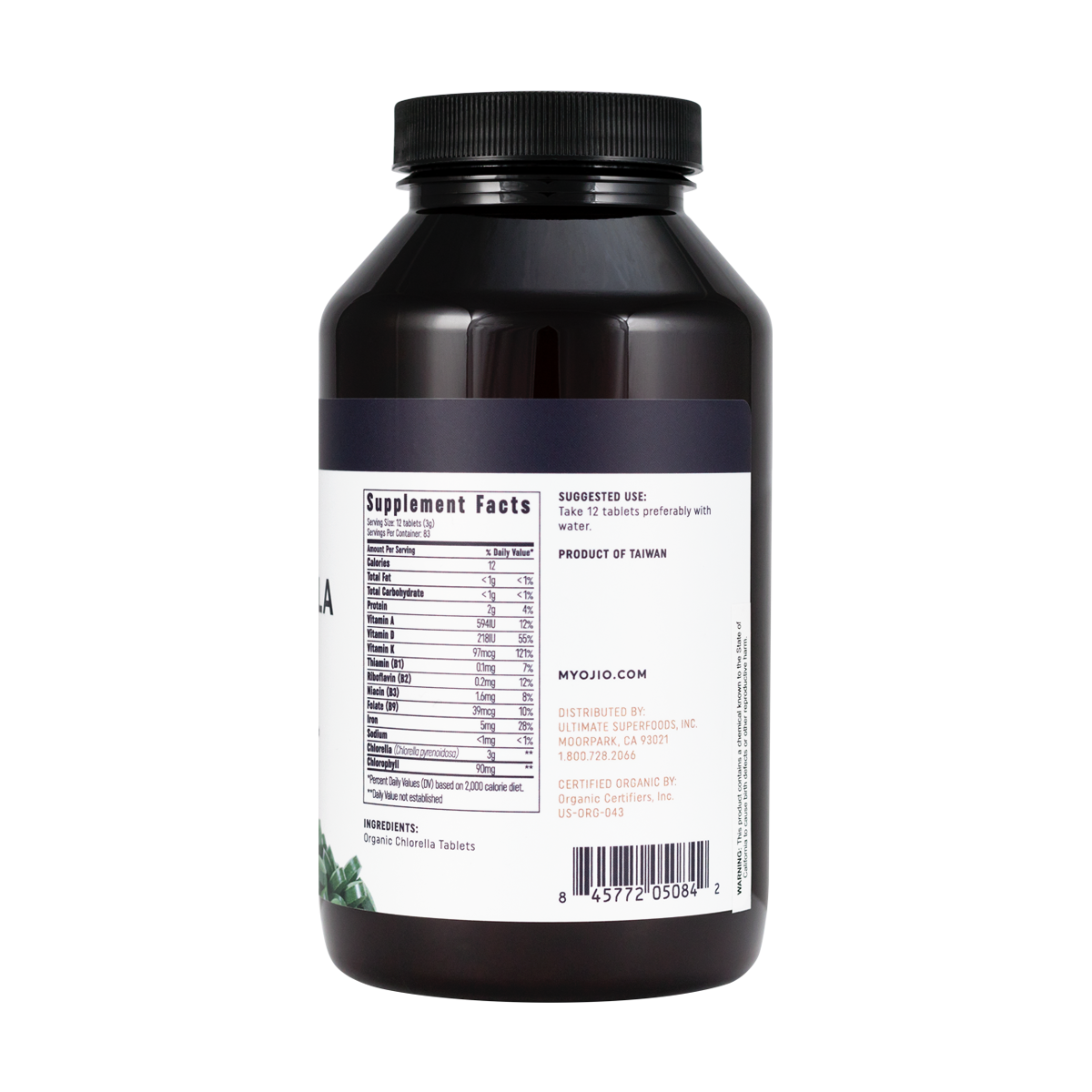 Chlorella Tablets - 250g | 1000 count