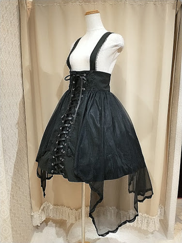 HARD GOTHIC JUMPER SKIRT