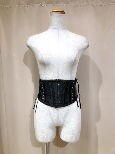 SIDE LACE UP BELT VERY SHORT CORSET