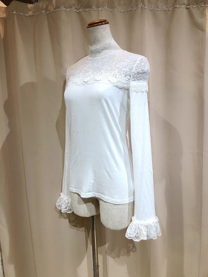 LACE INNER CUT & SEW (WHITE)
