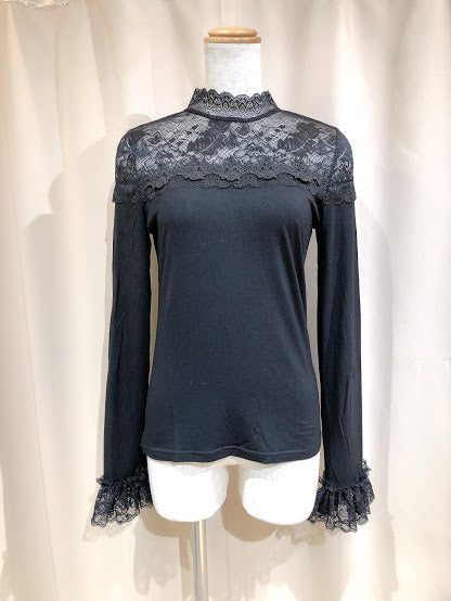LACE INNER CUT & SEW (BLACK)