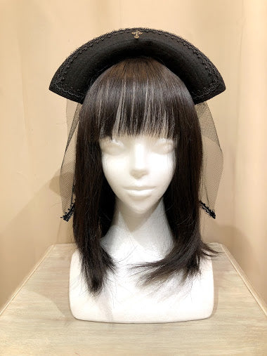 BLACK NURSE HEAD BAND