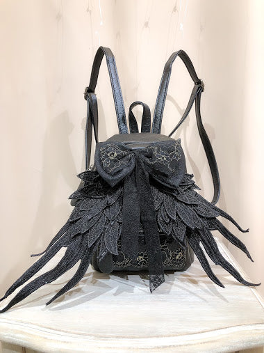 WING MINI RUCK SACK ver.2 (BLACK)