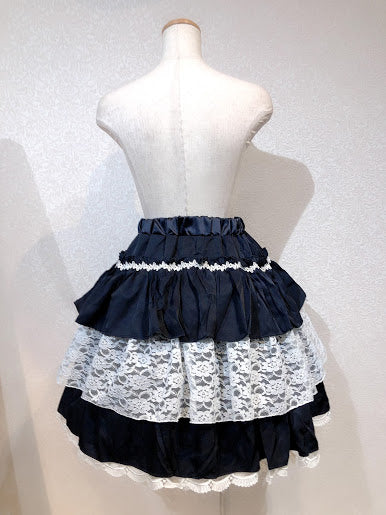 TIERED FRILL SKIRT