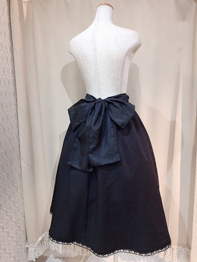 Drawstring 2way skirt