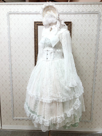 2WAY OVER DRESS (WHITE)