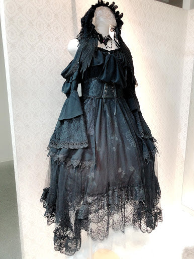 Midnight ball Princess sleeve Dress