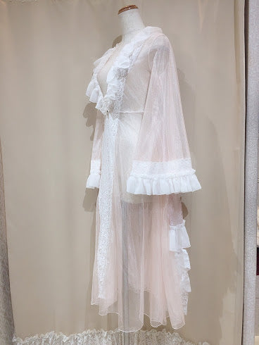TULLE DRESS ROBE(PINK)