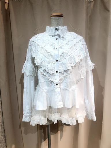 One Of a Kind Lace Lace Blouse