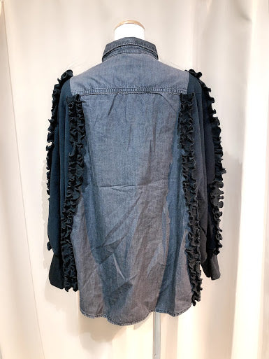 Denim One Of a Kind Shirt Jacket