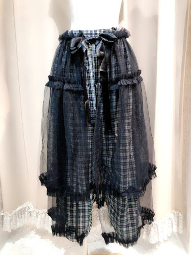 One Of a Kind Check Trousers
