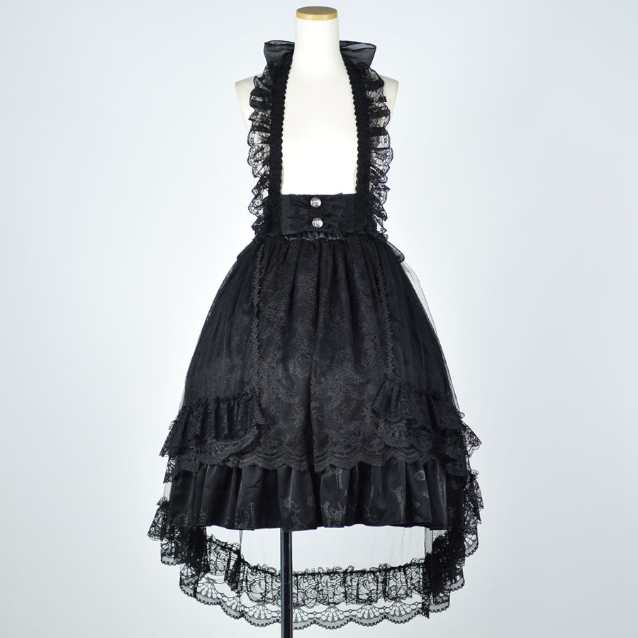OVER LACE JUMPER SKIRT