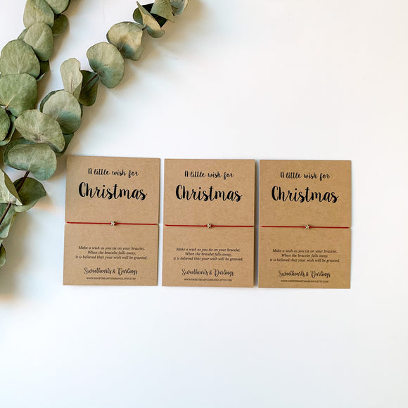 'A little wish for Christmas' - Bundle of 3