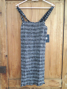 Volcom- Seriously Dress- black/white- 63% Viskose/37% Cotton