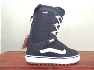 Women Vans Hi Standard- black white