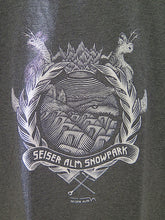 Load image into Gallery viewer, LTD Edition-Snowpark Seiser Alm T-Shirt-  designet by Lukas Goller
