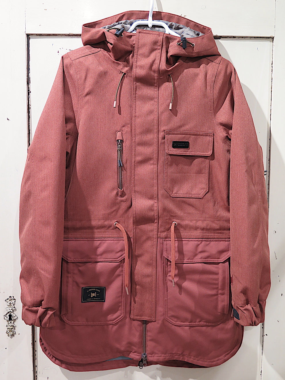 L1 Emma Snow Jacket- rust