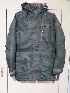 686 Spirit Insulated Snowjacket- surplus green blankt