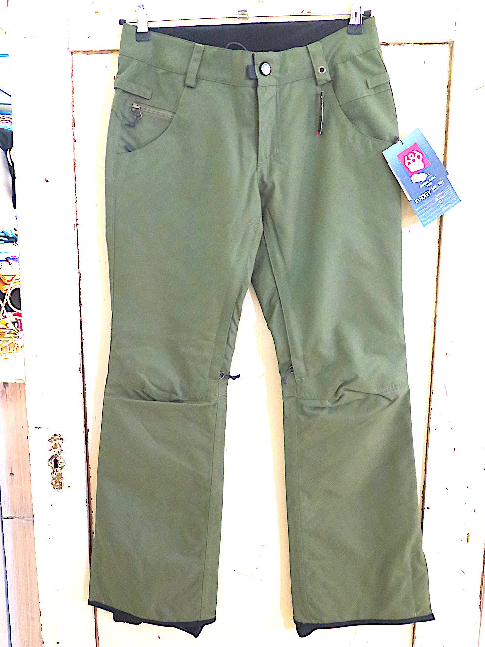 686 Crystal Shell Snow Pant- surplus green