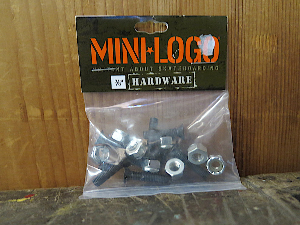 Mini Logo Bolts- 7/8 phillips