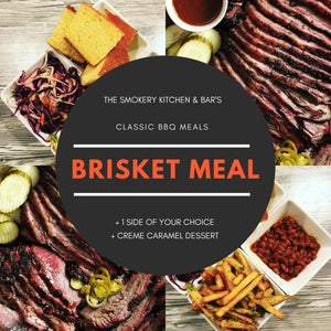 Classic BBQ Meal Brisket For 2 People