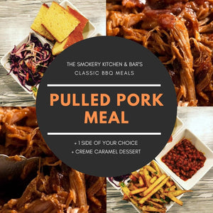 Classic BBQ Meal Pulled Pork For 2 People