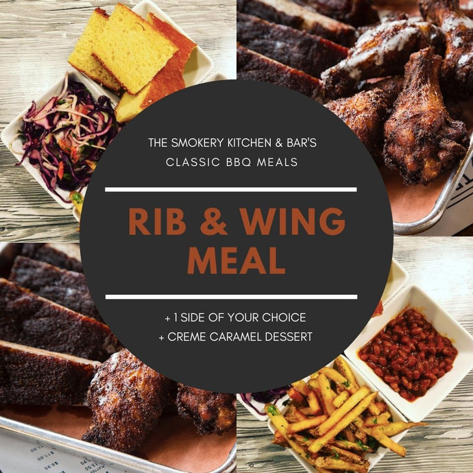 Classic BBQ Meal Rib & Wings For 2 People