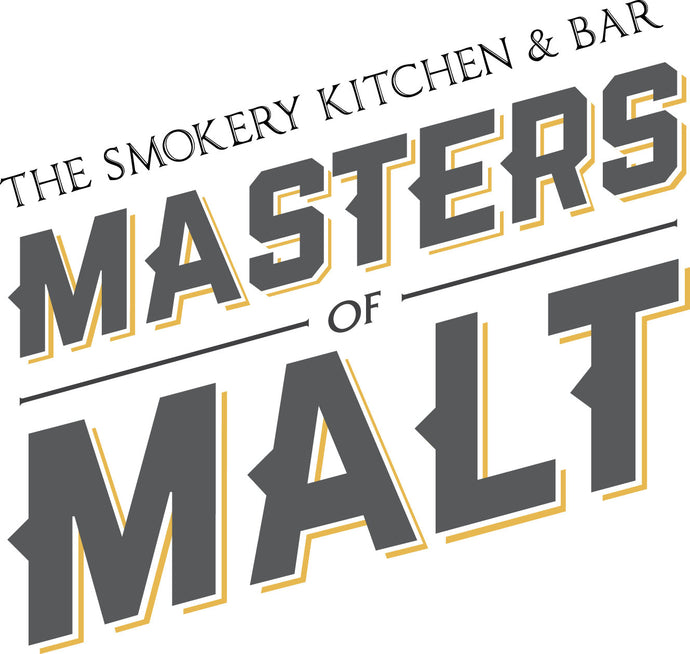 Masters Of Malt Whisky Tasting Ticket Friday October 9th 8pm