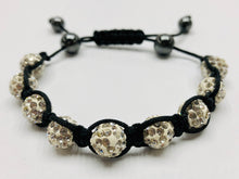 Load image into Gallery viewer, Crystal Shambala Bracelet — Weave