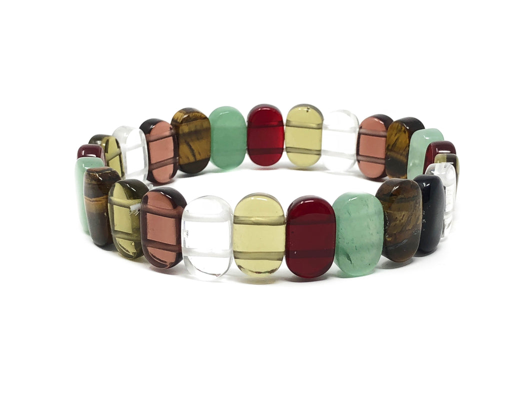 Happy Pills Serotonin Mineral Bracelet