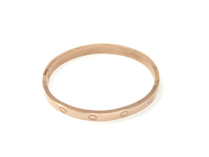 Fashion Bangle — Rose Gold Plated