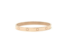 Load image into Gallery viewer, Fashion Bangle — Rose Gold Plated