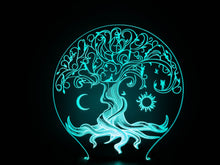 Load image into Gallery viewer, Alchemist Tree of Life Lamp w/ 7.83hz Insert
