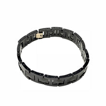 Load image into Gallery viewer, Mirror Finish Tungsten Bracelet — Black