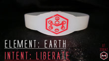 Load image into Gallery viewer, 396hz Solfeggio UT Liberation Silicone Band