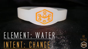417hz Solfeggio RE Change Silicone Band
