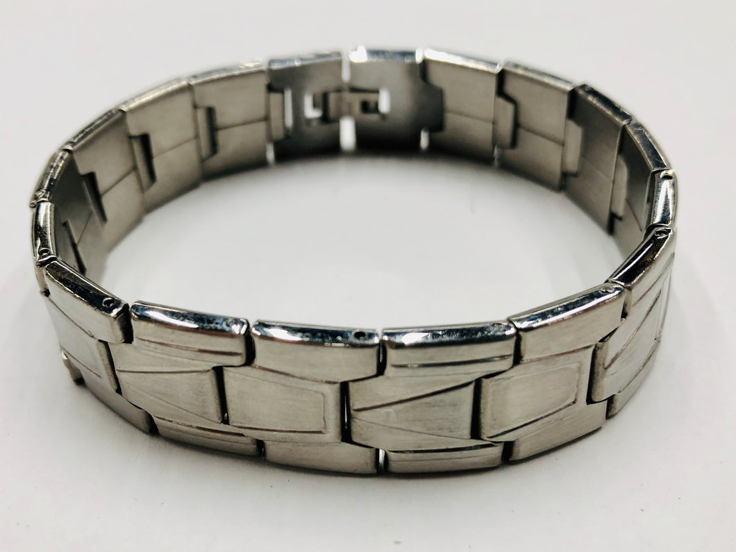 Men's Brushed Stainless Steel